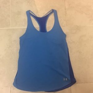 Under Armour blue Athletic tank small